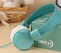 Marca original grandes fones de ouvido 3.5mm headband fones de ouvido com microfone para iphone samsung xiaomi telefones fone de ouvido estéreo para pc tablets