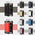 Ультра Тонкий Ударопрочный Резиновый Прочный ПК и ТПУ Hybrid Case Cover Для Huawei P8 P8 Lite P9 P9 Lite P9 Плюс Mate 8 Прочного щит