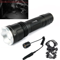 UniqueFire UF 1507 Hunter Flashlight Wavelength 940nm Infrared Night Vision 3 Modes Lamp Torch Remote Pressure