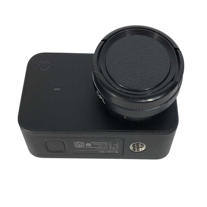 Colour: 37Mm Cpl Filte Accessories Professional Cpl//Uv Filter Protector Lens Cap Mini Cover for SSN Yi 2 4K 4K Plus Lite Xiaoyi Sport Action Camera Accessories