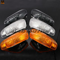 For KAWASAKI ZZR 400 600 ZX600E ZX-600E ZZR400 1994-2004 Motorcycle Accessories Front Turn signal Blinker Lens Three colors