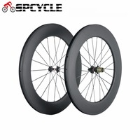Spcycle 700C Ultra Light Carbon Wheels 88mm R36 Hub Carbon Clincher Tubular Wheelset Road Bike Bicycle Wheel With OEM Painting