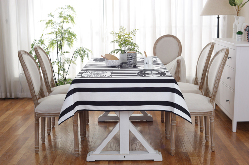 AIMIU Stripe Table Cloth Creative Cartoon Pattern Tablecloth For Home Hotel  Waterproof Picnic Barbecue Cloth Custom Made Cloth In Tablecloths From Home  ...
