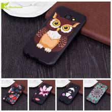 For Coque Samsung Galaxy A5 2016 2017 Case Cartoon 3D Printed Soft Silicon Cases For Samsung A 5 A510 A520 Panda Owl Phone Cover(China)