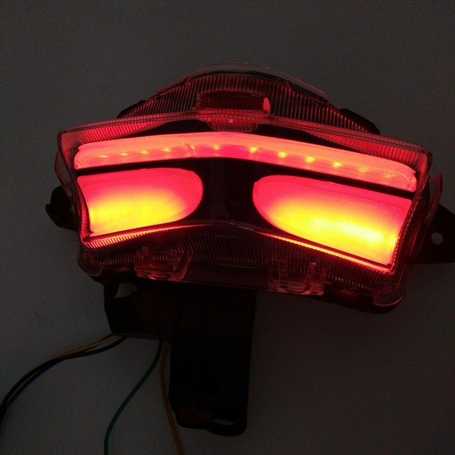 Motorcycle LED Stop Lamp Rear Tail Lamp With Brake Light Indicator Winker Rear  Light FOR YAMAHA