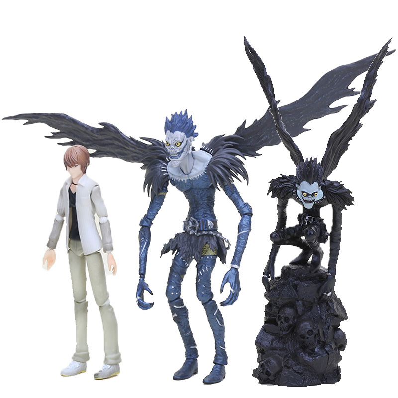 Figma Anime Death Note Figure Toys Character L Killer Ryuuku Ryuk Yagami Light Action Figures Toys Collection Model Toy Dolls
