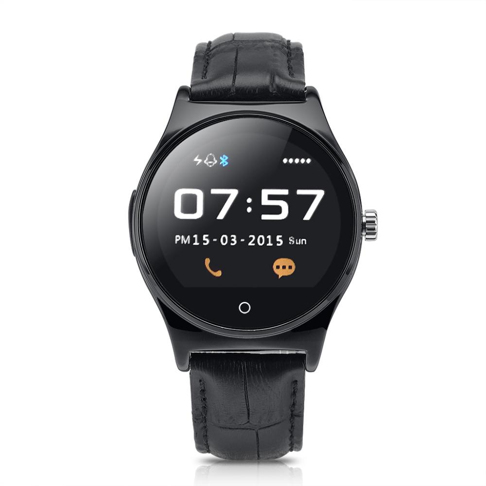 Prix pour D'origine Rwatch R11 moniteur de fréquence cardiaque Smart Watch Ronde Affichage Bluetooth 4.0 Moniteur de Fréquence Cardiaque IP65 preuve de l'eau Smartwatch