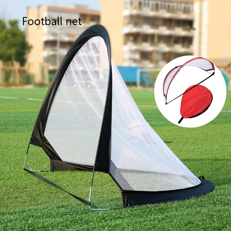 Mini Soccers Door Outdoor Foldable Portable Kid Soccer Gate Game Net Pop-Up Goal Net Children Football Toy For Group Playing image