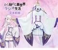 Re:ZERO Starting Life in Another World Emilia elf cosplay costume Life in a different world from zero, ReZero