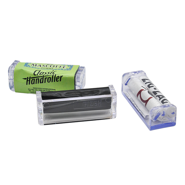 3 Design Available 70mm Rolling Machine Plastic Tobacco Roller Rolling Paper Machine Cigarette Maker For 70mm Paper
