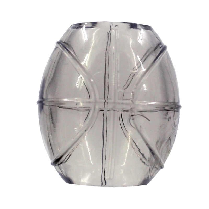 Nouvellement hommes TPE sexe pénis prépuce anneau de Protection manchon de pénis retard durable anneau de coq 19ing
