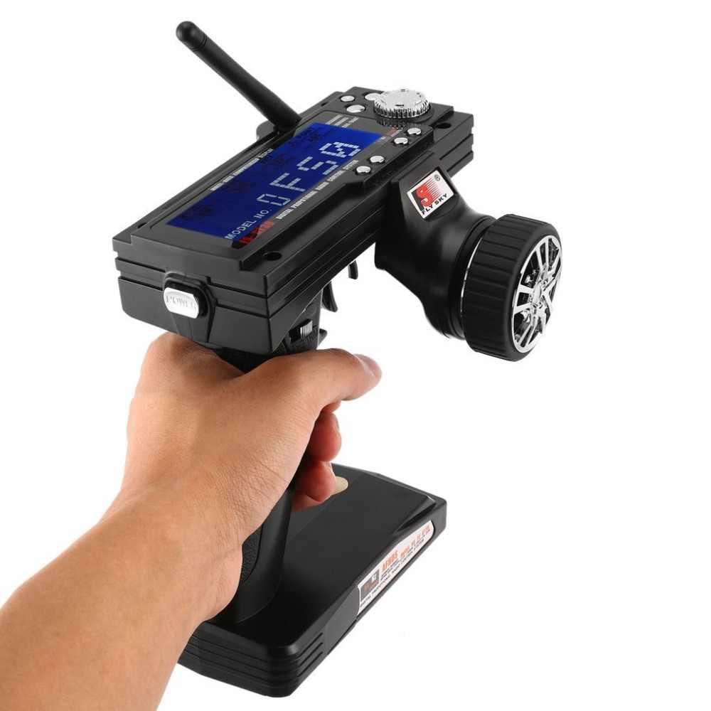 FS-GT3B อุปกรณ์เสริมกล้อง 2.4G 3CH RC Marine ควบคุมปืนเครื่องส่งสัญญาณ/w TX Receiver สำหรับวิทยุควบคุมรุ่น mini VCR