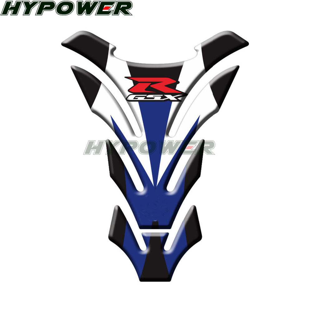 Reflective Motorcycle For <font><b>Suzuki</b></font> GSXR600 GSX R750 <font><b>GSXR1000</b></font> K1 K2 K3 K4 K5 K6 <font><b>K7</b></font> K8 3D MOTO Raised Gas Cap Fuel Tank Pad Sticker image
