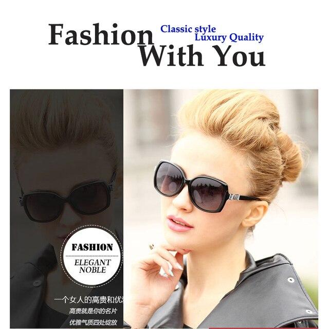 Oversized Sunglasses Women Polarized Driving Sun Glasses UV400 Shades Bowknot Goggle Gafas De Sol Mujer 4 Colors Metal Hinge