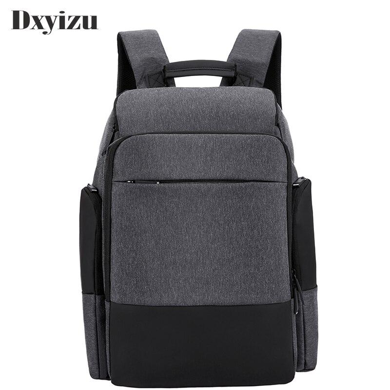 Sac à dos classique en Nylon imperméable à l'eau pour garçons de 15 pouces sac de voyage pour ordinateur portable homme Mochila sacs à dos à bandoulière pour hommes