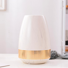 Nordic minimalist INS marble gold round ceramic vase plug home decoration ornaments  Dried flower artificial flower Hydroponic