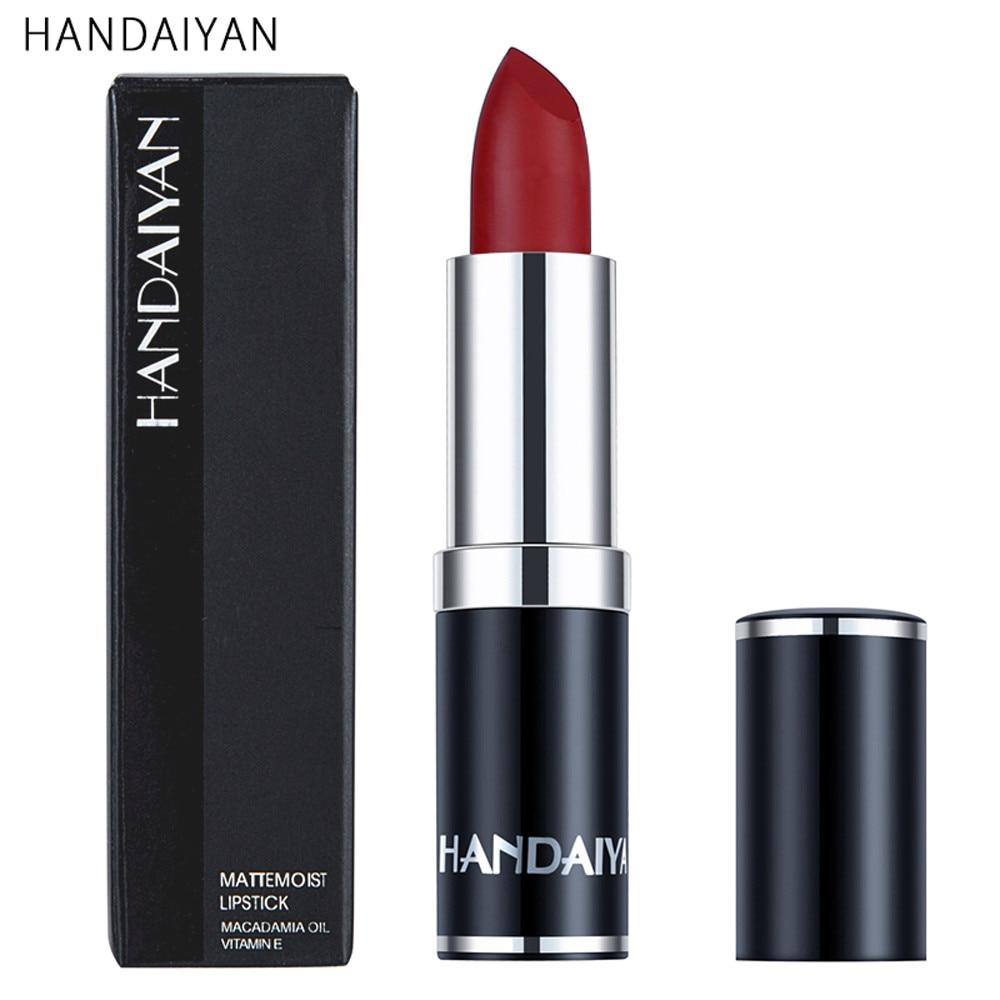 waterproof matte color lipstick rich vitamin e moisturizing and nourishing lipstick rouge a
