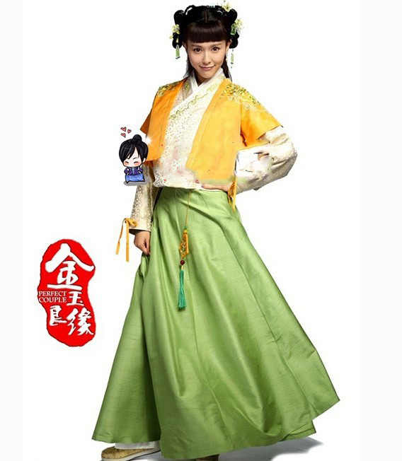 ecdf3b08a Women Hanfu Costume Clothes Ming Dynasty Princess Costume TV Play Jin Yu  Liang Yuan Perfect Couple