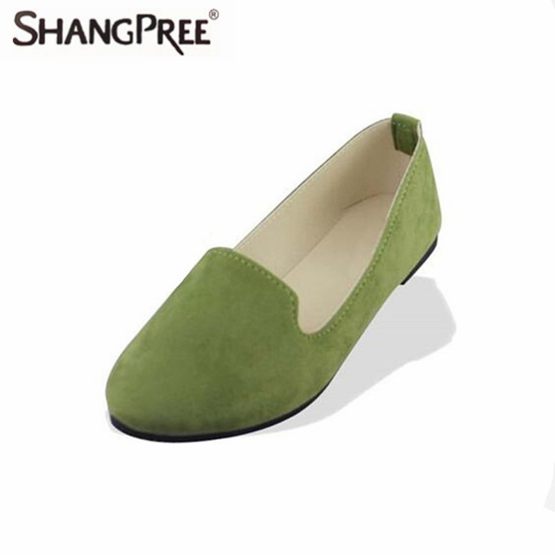 Large Size 2017 Spring And Autumn Women Flats Shoes Sweet Candy Color Work Shoes Female Pregnant Women Loafers free shipping candy color women garden shoes breathable women beach shoes hsa21