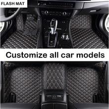 car floor mats for mercedes All models cla w212 w245 glk gla gle gl x164 vito w639 s600 auto accessories