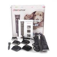 Baorun S1 Профессиональный Собака электрический машинки для стрижки волос и триммеры животных Pet триммер бритва резки стрижка машина ножницы