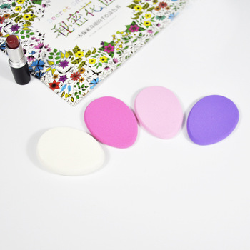 Velvet Makeup Sponge Microfiber Fluff Surface Cosmetic Puff Make Up Blender Puff Powder Foundation Concealer Cream CC24 1