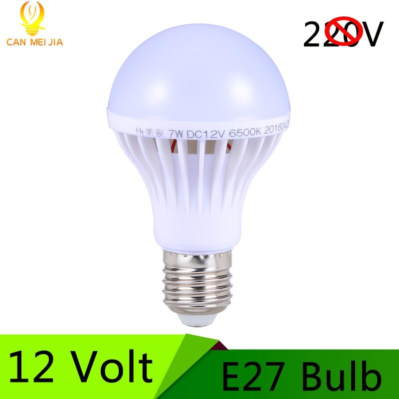 new e27 led bulb 12v led lamp 3w 5w 7w 9w 12w 15w dc 12 volts