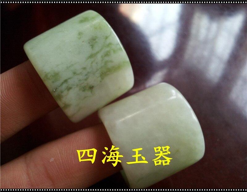 Подлинное натуральное Нефритовое Xiuyan jade BanZhi Jade кольцо мужское Northeast