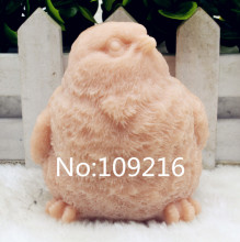 New Product!!1pcs 3D Bird with Rise Head (zx203) Food Grade Silicone Handmade Soap Mold Crafts DIY Mould