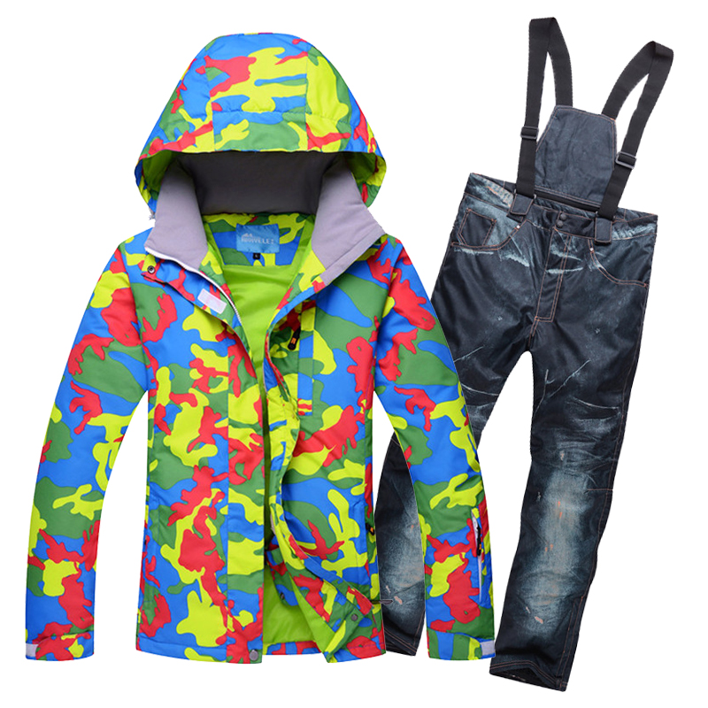 woman skiing suit sets snowboarding clothes 2018 New waterproof windproof winter Snow Costumes jackets +bibs pants Ski suit Hotwoman skiing suit sets snowboarding clothes 2018 New waterproof windproof winter Snow Costumes jackets +bibs pants Ski suit Hot