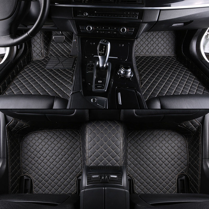 Custom Fit car floor mats case for Mercedes Benz S class S211 S212 S320L S400L S500L S350 S500 GLC GLE car-styling rus liners