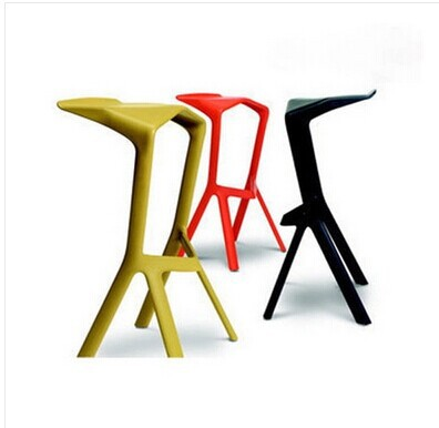 Ssangyong Fashion Simple Barstool Leisure Chair Bar Chairs IKEA Creative  Shark Mouth Plastic Stools Bar Stools