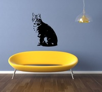 Amerikanischen Kurzhaar Rasse Katze Kätzchen Tier kitty Niedliche Wandaufkleber Aufkleber