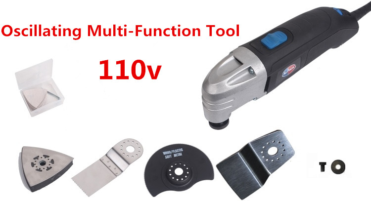 FREE SHIPPING 110v Multifunction Power Tool, multi master oscillating tools ,DIY renovator tool at home