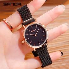 купить 2019 Fashion Watch for Women Luxury Brand Rose Gold Ladies Dress Wrist Watch Magnetic Mesh Steel Clock Dropshipping Montre Femme дешево