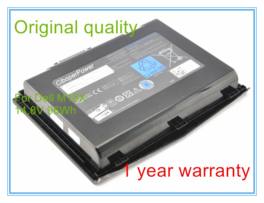 14.8V 96wh original battery for M18x R1 R2 Series 18.4 inches Free shipping стоимость