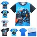 FREE SHIPPING Cartoon Rogue One Boys Girls T Shirts Star Wars Children Kids Shorts T Shirt For 3-12Years Teenager Boys Clothes