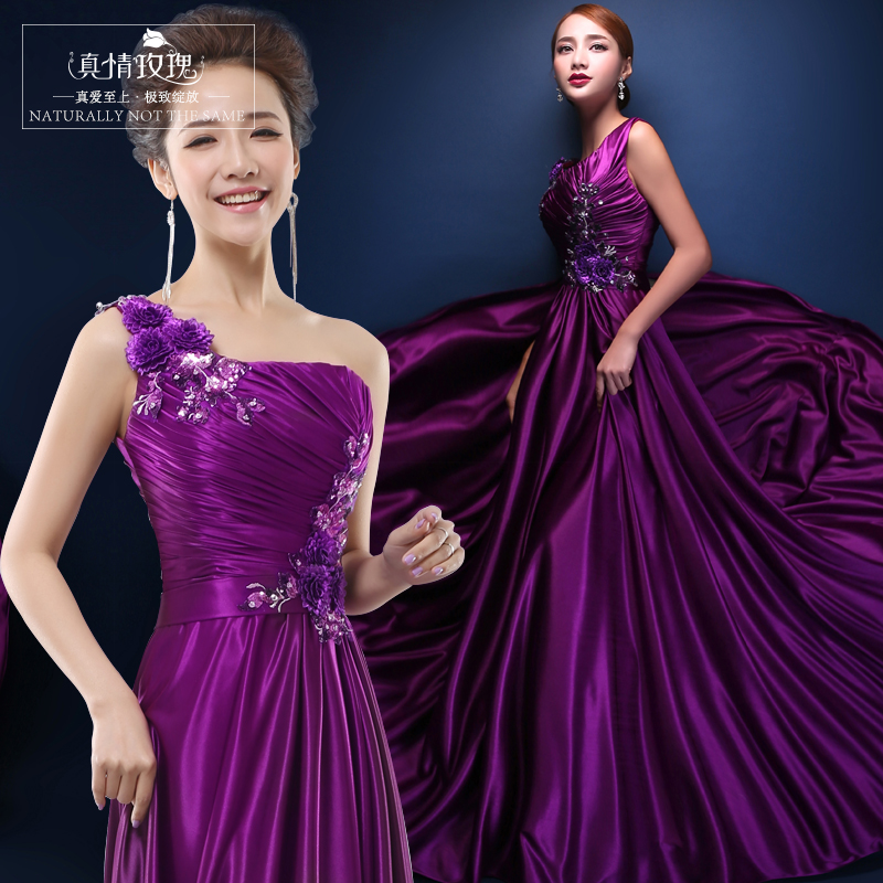 Compare Prices on Violet Bridesmaid Dresses- Online Shopping/Buy ...