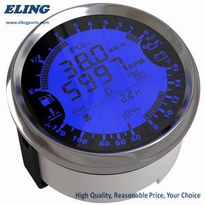 Image 2 - ใหม่ 6 in 1 Multi functional วัด GPS เครื่องวัดความเร็วชั่วโมงอุณหภูมิน้ำการใช้ระดับความดันน้ำมันโวลต์มิเตอร์ 12V 0 5Bar