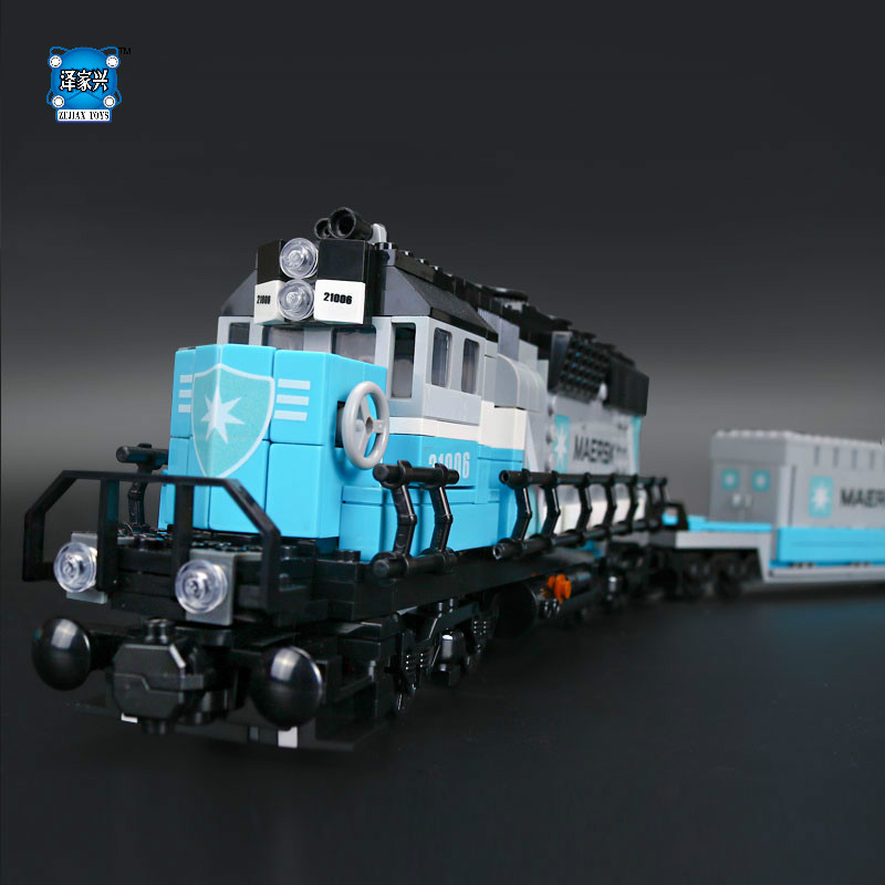 Lepin New 1234Pcs Genuine Technic Ultimate Series The Maersk Train Set Building Blocks Bricks Compatible Educational Toys Gifts 22002 genuine technic series the maersk cargo container ship set 10241 building educational toys lepin