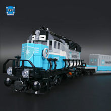 Lepin New 1234Pcs Genuine Technic Ultimate Series The Maersk Train Set Building Blocks Bricks Compatible Educational Toys Gifts(China)