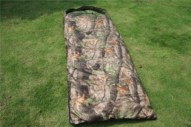 Outdoor Hunting Safari Realtree Camouflage Camping Sleeping Bag Hunter