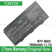 BTY-M6D Genuine Battery For MSI GT60 GT70 GX780R GX680 GX780 GT780R GT660R GT663R GX660 GT680R GT783R 7800mAh 11.1V(China)
