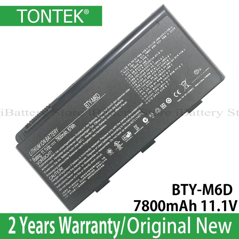 BATTERIA PER MSI gt-660-r gt-663-r gt-680-r gt-683-r gt-760-r gt-780-r