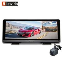 Bluavido Full HD 1080P Car DVR ADAS 8 IPS 4G Android GPS Navigation Dash camera with HD 720P rear cam WIFI auto video registrar