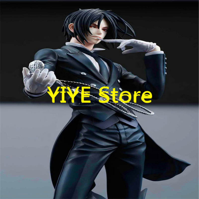 new hot 20cm black butler sebastian michaelis action figure toys collection christmas toy dol ag142l in action toy figures from toys hobbies on - Black Butler Christmas