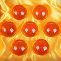 BOHS DragonBall 7 Estrellas Bola Cristalina de Dragon Ball Z 3.5 CM PVC Figura de Colección de Juguetes 1 ~ 7 Bolas De Cristal figuras 7 Unids/set,