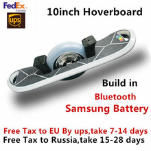New 10 Inch One Wheel Electric Skateboard Bluetooth Hoverboard Self Balance Electric Scooter Samsung Battery with LED light