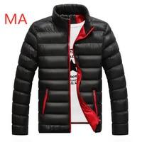 MA Men's Print Casual Ultralight Unisex Feathers Vest Autumn Winter Warm Coat Man Lightweight Duck Down Jacket Men Leisure Coat