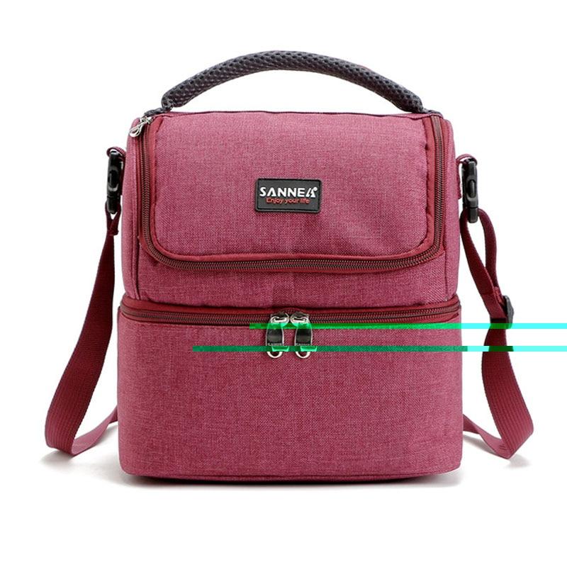 viagem tote bolsas Bolso Mujer : Bolsa Termica para Marmita